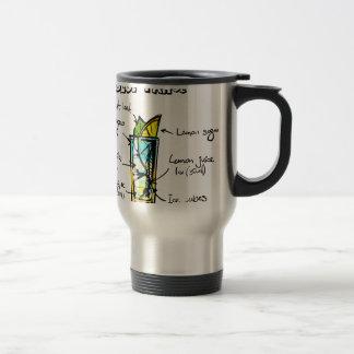 ahoe Blue Cocktail Recipe 15 Oz Stainless Steel Travel Mug