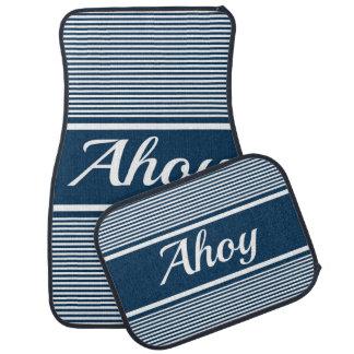 Ahoy Car Mat