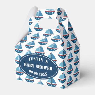 Ahoy It´s a boy! nautical baby shower party Favor Box