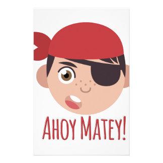 Ahoy Matey Stationery