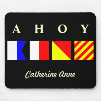Ahoy Personalized Mousepad