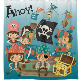 Ahoy Pirates and Pirate Ship
