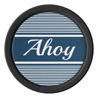 Ahoy Poker Chips