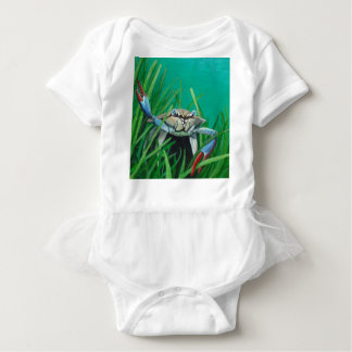 Ahoy There Meet The Under Water Sea Crab Baby Bodysuit
