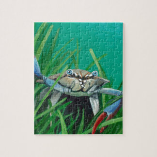Ahoy There Meet The Under Water Sea Crab Jigsaw Puzzle