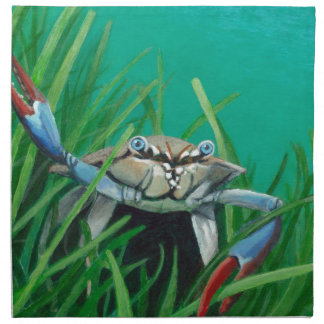Ahoy There Meet The Under Water Sea Crab Napkin