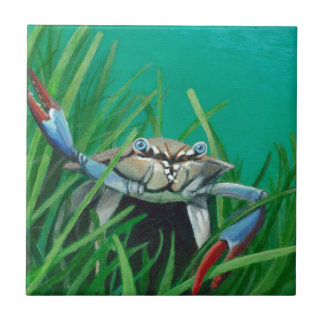 Ahoy There Meet The Under Water Sea Crab Tile