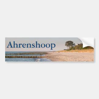 Ahrenshoop Beach Bumper Sticker