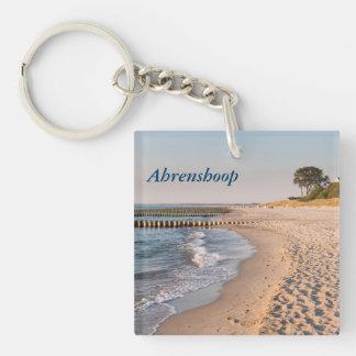 Ahrenshoop Beach Keychain