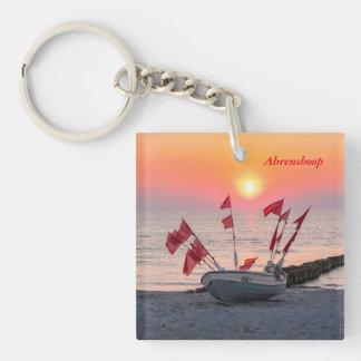 Ahrenshoop sunset keychain