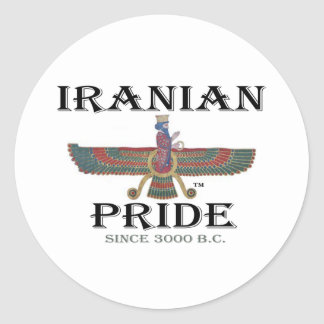 Ahura Mazda - Iranian Pride Round Sticker