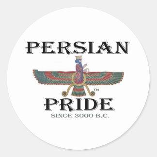 Ahura Mazda - Persian Pride Round Sticker