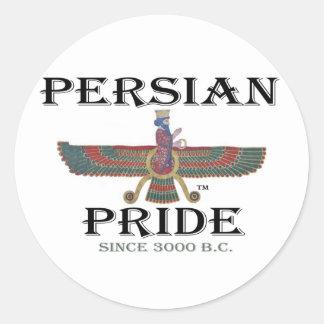 Ahura Mazda - Persian Pride Round Stickers