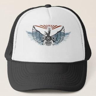 ahura mazda trucker hat
