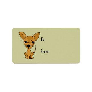 AI- Awesome Chihuahua Gift Tags