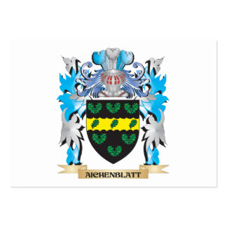 Aichenblatt Coat Of Arms Business Card