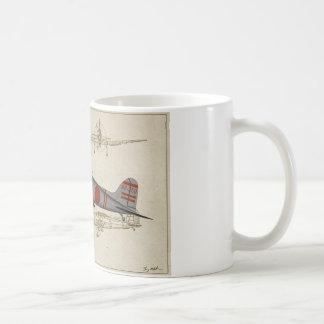 Aichi-Val-3v Dive-bomber Coffee Mug