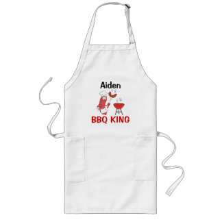 Aiden BBQ King Long Apron