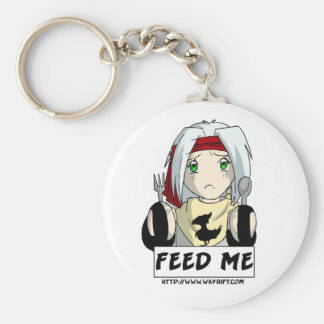 "Aiden ""Feed Me"" Keychain"
