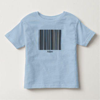 Aiden Personalized Functional Barcode Tee