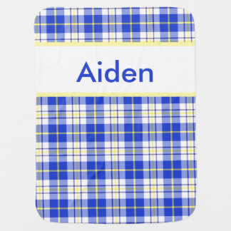 Aiden's Personalized Blanket Swaddle Blanket