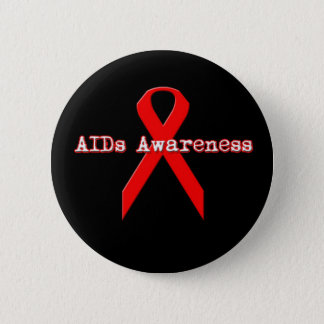 Aids Awareness Button