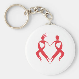 AIDS Emblem Keychain