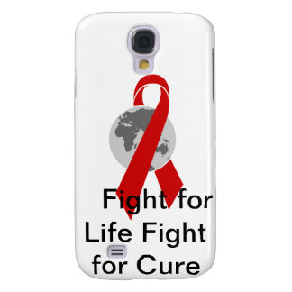 Aids Logo Fight for Life Fight for Cure