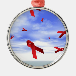 AIDS Ribbons Ornament
