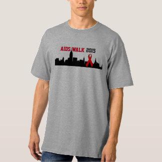 AIDS Walk NYC 2015 T-Shirt