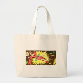 Aie-eee! ka-Blam! Large Tote Bag