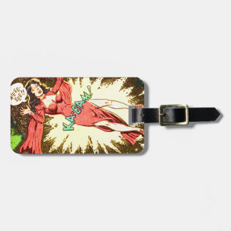 Aie-eee! ka-Blam! Luggage Tag