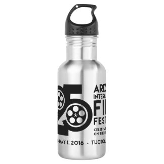 AIFF official aluminum beverage bottle