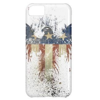 Aigle patriotique, US/USA, drapeau TRISTE Coque iPhone 5C