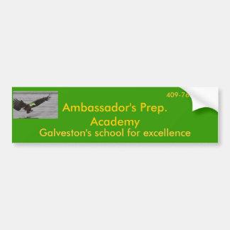 aigle, Prep de l'Ambassadeur. Académie, Galveston… Autocollant De Voiture