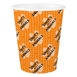 AIGTA Podcast Orange Logo Paper Cup