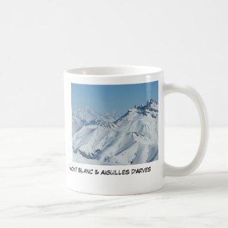 Aiguille d'Arves & Mt Blanc, Mr Neddo ... Coffee Mug