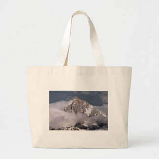 Aiguille du Midi in France Large Tote Bag