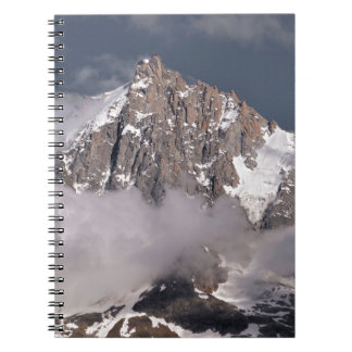 Aiguille du Midi in France Spiral Notebook