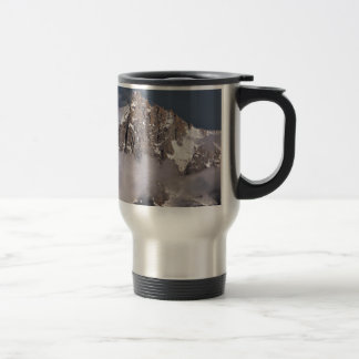 Aiguille du Midi in France Travel Mug