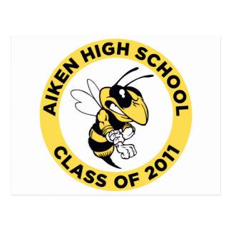 Aiken High School Postcard