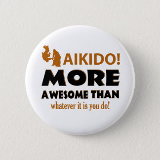 AIKIDO 2 INCH ROUND BUTTON
