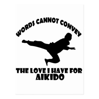 Aikido Designs Postcard