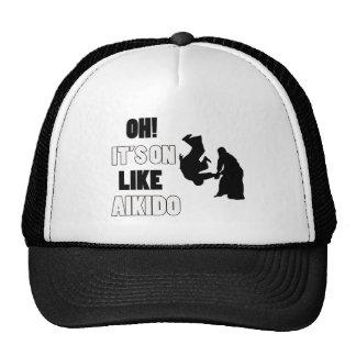Aikido Dog designs Trucker Hat