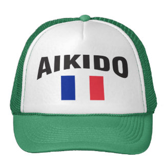 Aikido France French Flag Trucker Hat