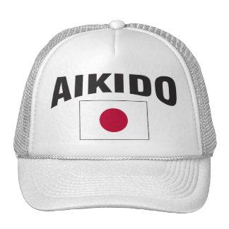 Aikido Japan Flag Trucker Hat