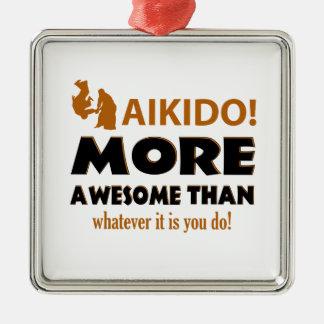AIKIDO METAL ORNAMENT