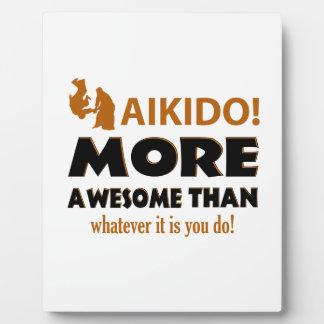 AIKIDO PLAQUE