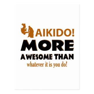AIKIDO POSTCARD