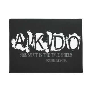 Aikido Quote Doormat